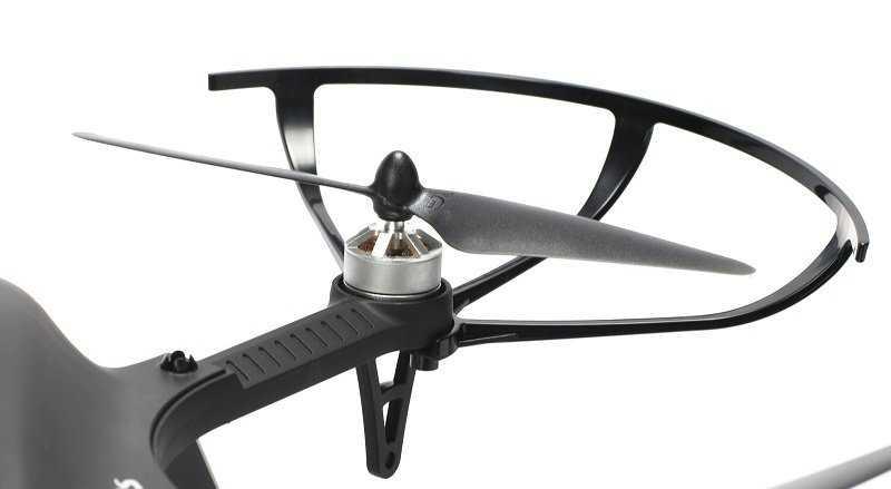 MJX Bugs 3 brushless drón 18 perces repülési idő fekete