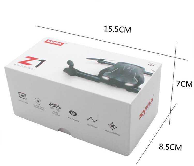 SYMA Z1 összehajtható drón