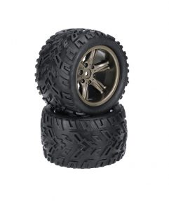 XLH 9116 monster truck kerék gumival 2db